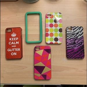 Accessories - 5 iPhone 4 cases